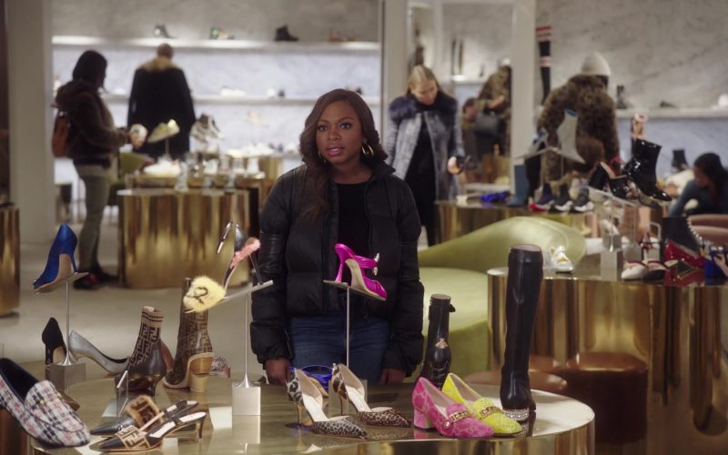 Fendi Shoes in Power – Season 6 Episode 5 King's Gambit