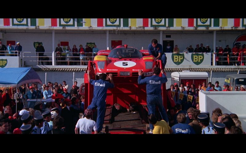 Ferrari, BP, Firestone, Shell in Le Mans