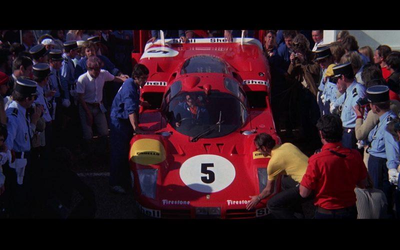 Ferrari, Carello, Firestone, Shell in Le Mans