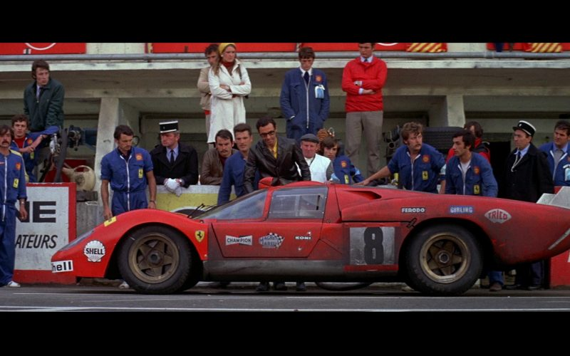 Ferrari, Champion, Shell, Ferodo, Magneti Marelli, Girling, Trico, Koni in Le Mans