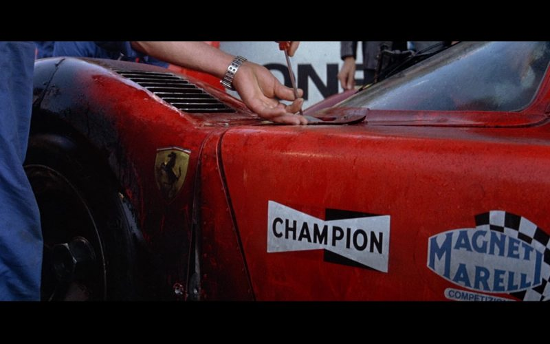 Ferrari, Champion and Magneti Marelli in Le Mans