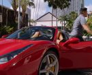 Ferrari Red Convertible Sports Car Used by Jay Hernandez as ...