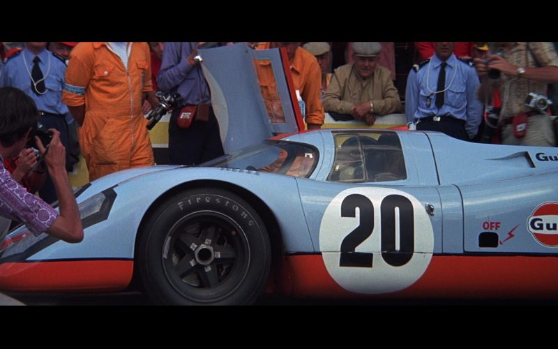 Firestone Tyres and Gulf in Le Mans
