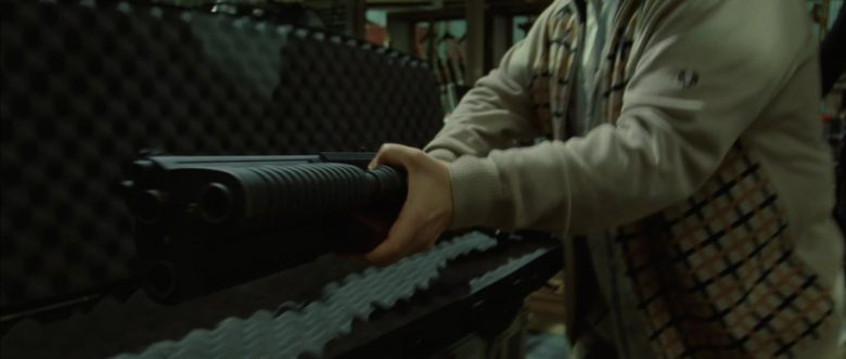 Fred Perry Sweater Worn by Patton Oswalt in Blade: Trinity (2004) - Movie Product Placement