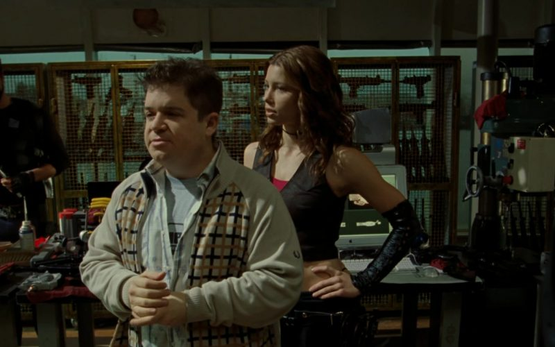 Fred Perry Sweater Worn by Patton Oswalt in Blade Trinity (4)