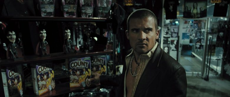 General Mills Count Chocula Monster Cereal in Blade: Trinity (2004) - Movie Product Placement