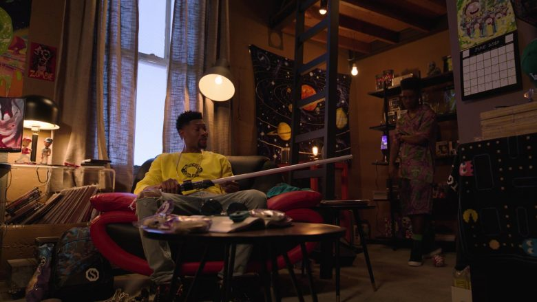 Givenchy Yellow Sweatshirt Worn by London Brown as Reggie in Ballers (4)