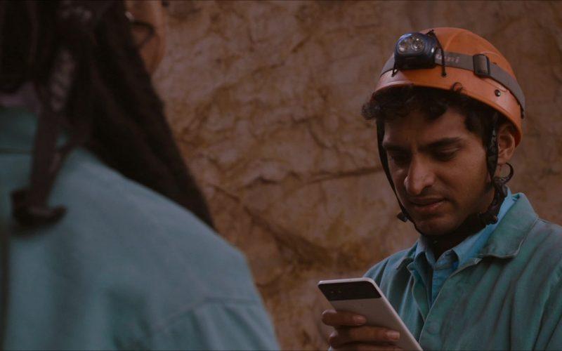 Google Pixel Smartphone Used by Karan Soni in Corporate Animals (1)