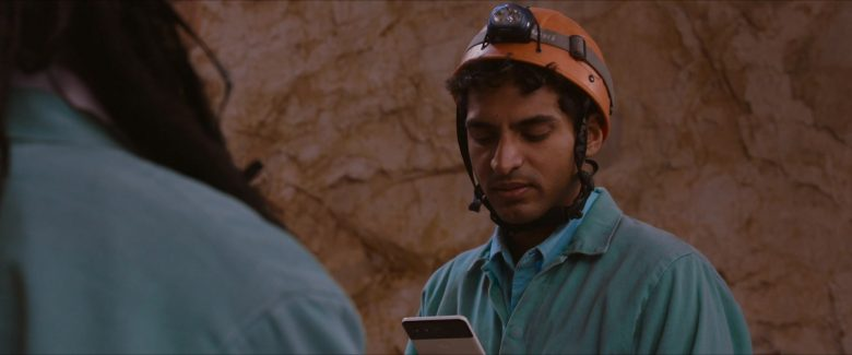 Google Pixel Smartphone Used by Karan Soni in Corporate Animals (2019) - Movie Product Placement