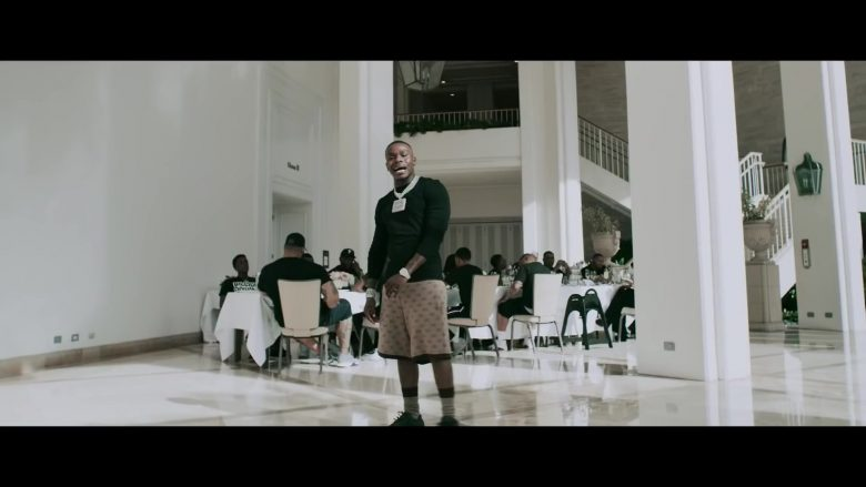 """Gucci Shorts Worn by DaBaby in """"Intro"""" (1)"""