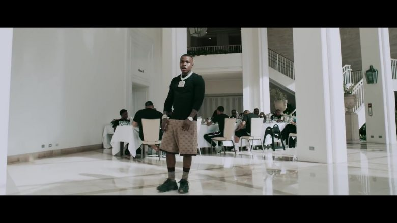 """Gucci Shorts Worn by DaBaby in """"Intro"""" (2)"""