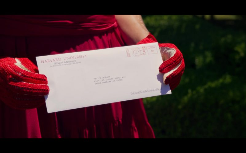 Harvard University Letter in The Politician