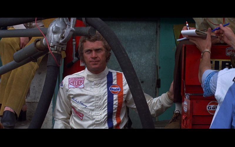 Heuer Chronograph x Gulf x Firestone Racing Jacket Worn by Steve McQueen as Michael Delaney in Le Mans (1)