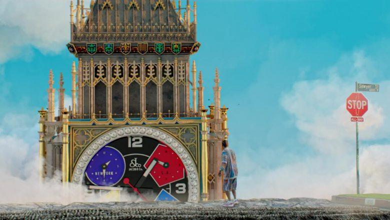 "Jacob & Co. Clock in ""Bezerk"" by Big Sean ft. A$AP Ferg, Hit-Boy (1)"