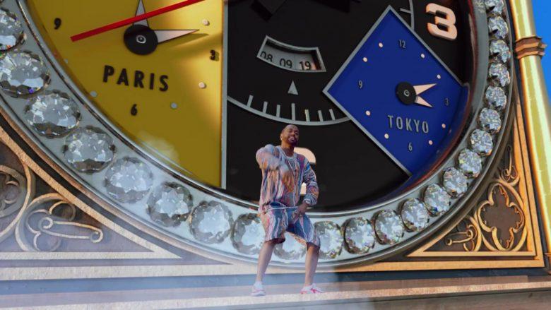 "Jacob & Co. Clock in ""Bezerk"" by Big Sean ft. A$AP Ferg, Hit-Boy (3)"