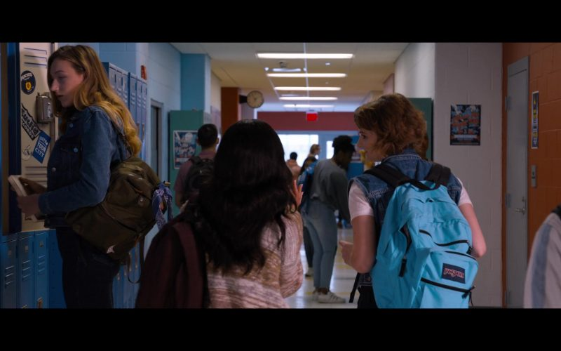JanSport Blue Backpack in Tall Girl
