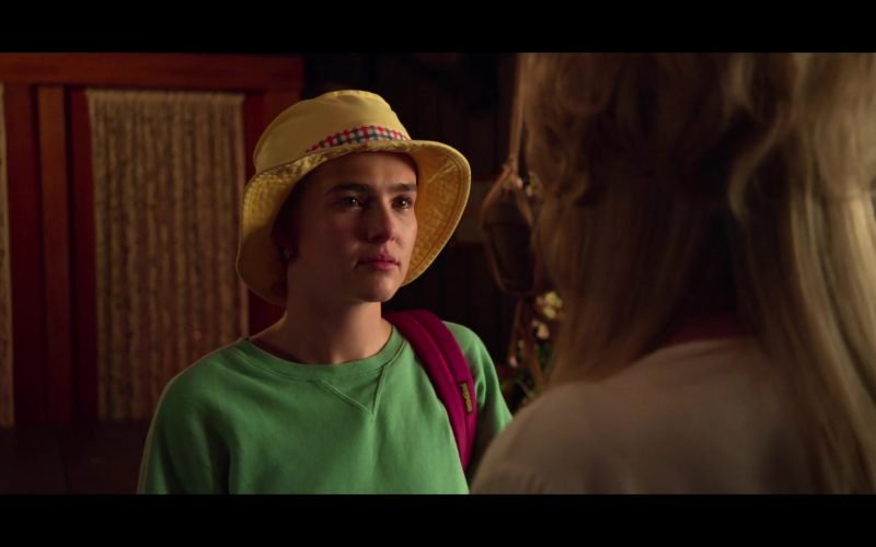 Jansport Backpack Used by Zoey Deutch as Infinity Jackson in The Politician (1)