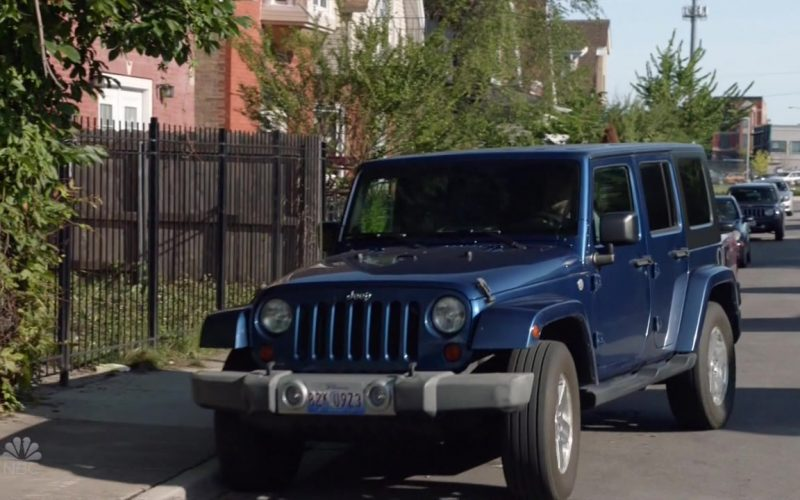 Jeep Wrangler Car in Chicago P.D. (1)