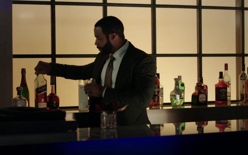 Johnnie Walker Blue Label Whiskey in Power
