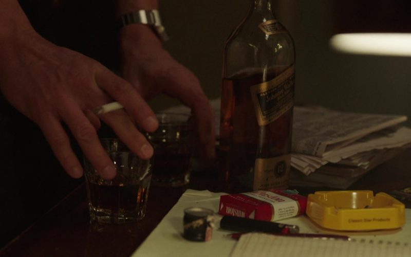 Johnnie Walker Whisky and Winston Cigarettes in The Deuce