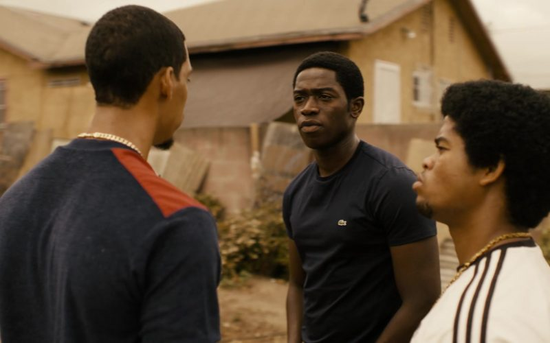Lacoste T-Shirt Worn by Damson Idris in Snowfall (3)