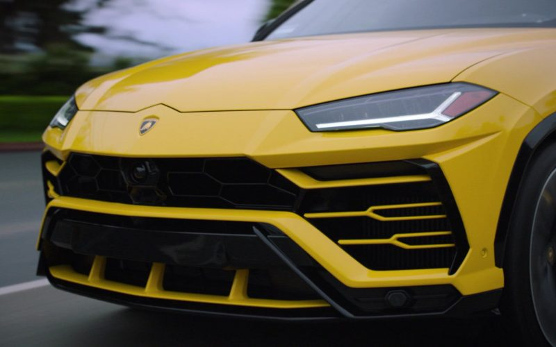 Lamborghini Urus Yellow Car in Ballers (1)