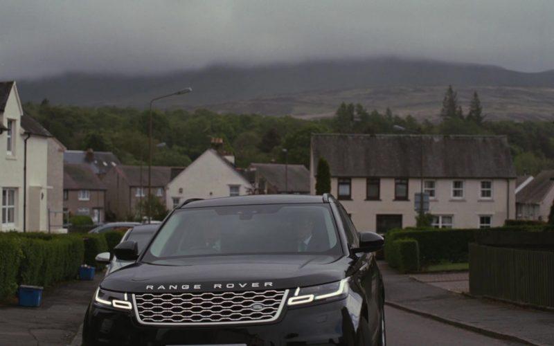Land Rover Range Rover Velar Black Car in Succession – Season 2 Episode 7 Return (2)