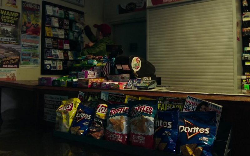 Lay's, Doritos, Ruffles Chips and Juicy Fruit Chewing Gums in Crawl