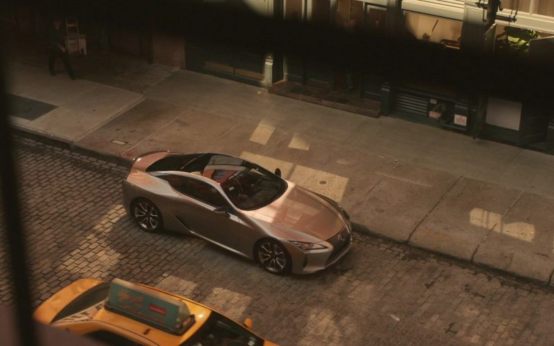 Lexus LC Car in Can You Keep a Secret (1)