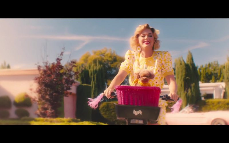 Lyft Bicycles in Small Talk by Katy Perry (3)