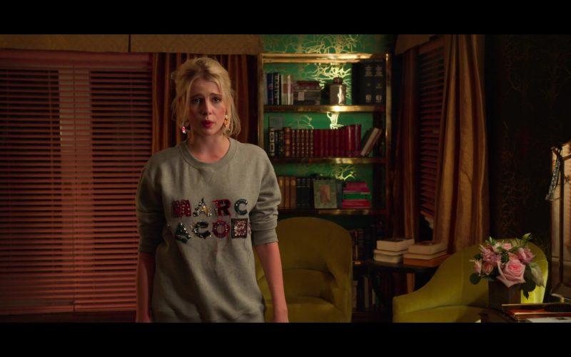 Marc Jacobs Sweatshirt Worn by Lucy Boynton as Astrid Sloan in The Politician (4)