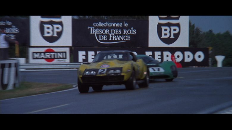 Martini, BP, Ferodo in Le Mans (1971) - Movie Product Placement