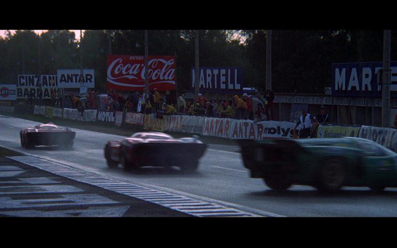 Martini, Cinzano, Antar, Coca-Cola, Martell in Le Mans