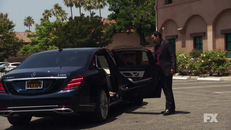 Mercedes-Benz S-Class Maybach S560 in Mayans M.C.