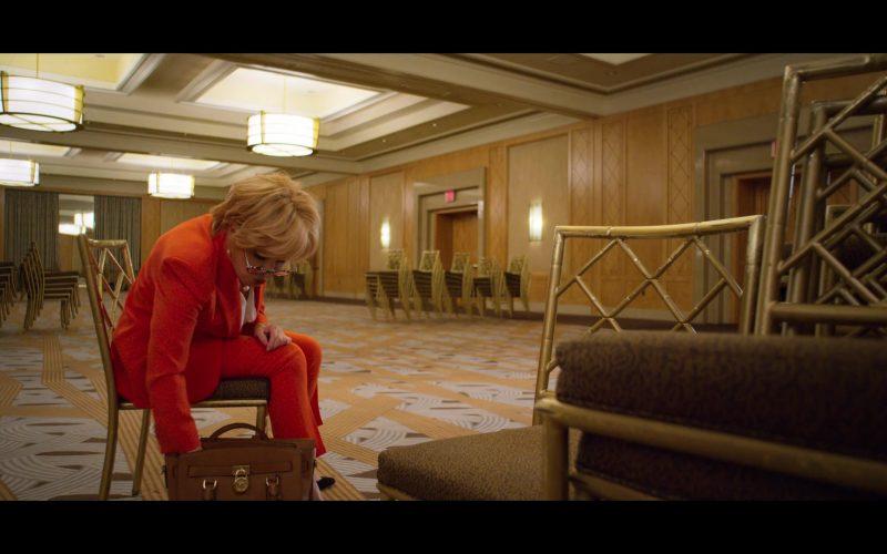 Michael Kors Brown Handbag in The Politician