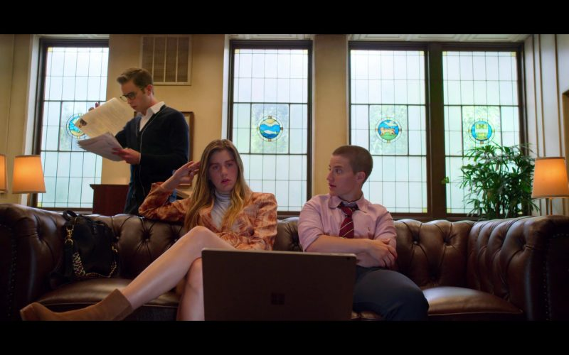 Microsoft Surface Laptop Used by Laura Dreyfuss as McAfee & Theo Germaine as James in The Politician (2)