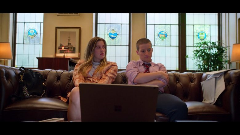 Microsoft Surface Laptop Used by Laura Dreyfuss as McAfee & Theo Germaine as James in The Politician (3)