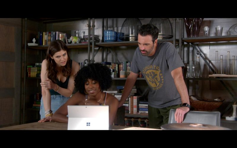 Microsoft Surface Tablet Used by Alexandra Daddario, Kirby Howell-Baptiste & Reid Scott (1)