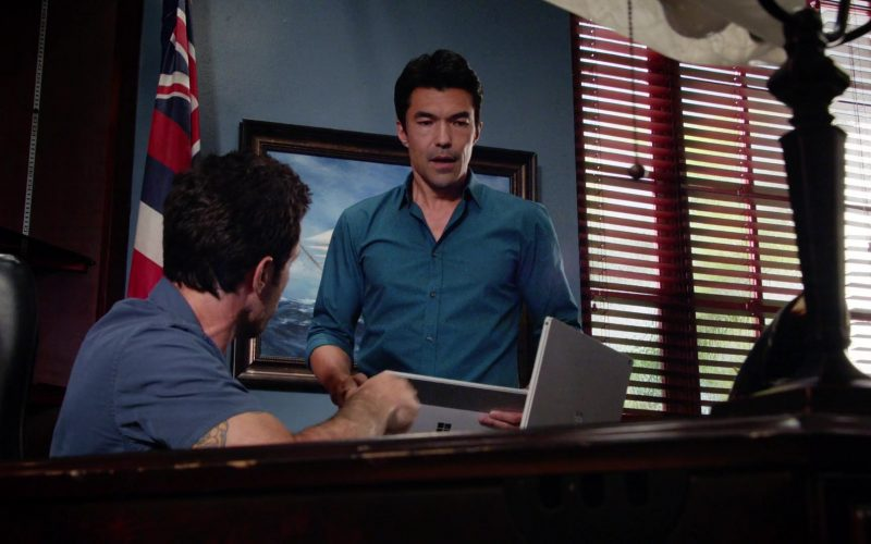 Microsoft Surface Used by Ian Anthony Dale as Adam Noshimuri in Hawaii Five-0