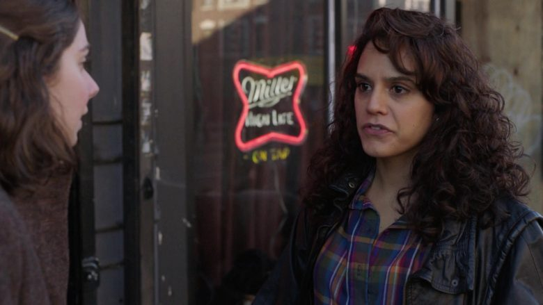 """Miller High Life Beer Sign in The Deuce - Season 3, Episode 1, """"The Camera Loves You"""" (2019) - TV Show Product Placement"""