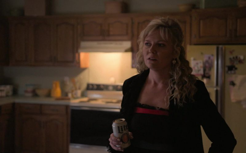 Miller Lite Beer Enjoyed by Kirsten Dunst as Krystal Stubbs in On Becoming a God in Central Florida (4)