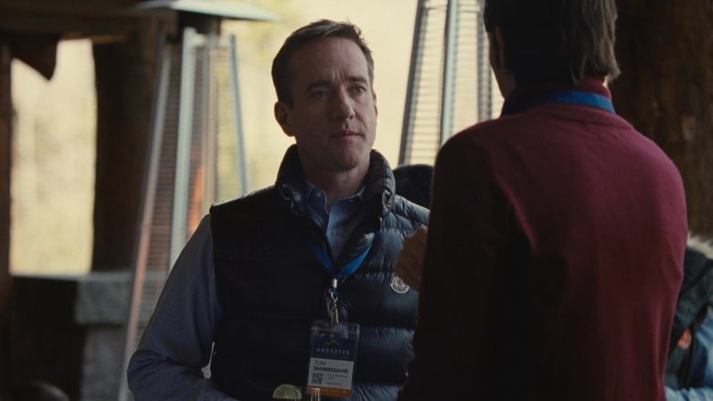 Moncler Vest Worn by Matthew Macfadyen in Succession - Season 2, Episode 6, Argestes (2019) - TV Show Product Placement