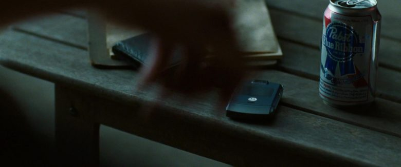 Motorola Cell Phone and Pabst Blue Ribbon Beer Can in The Death and Life of John F. Donovan (2018) - Movie Product Placement