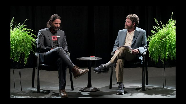 New Balance Shoes Worn by Zach Galifianakis in Between Two Ferns: The Movie (2019) - Movie Product Placement