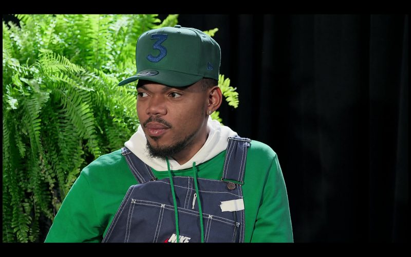 New Era Cap 3 Worn by Chance the Rapper in Between Two Ferns The Movie (1)