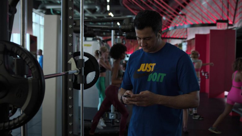"""Nike Blue Tee Worn by Troy Garity in Ballers - Season 5, Episode 3, """"Copernicursed"""" (2019) - TV Show Product Placement"""
