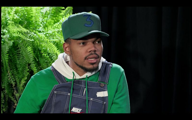 Nike Denim Overalls Worn by Chance the Rapper in Between Two Ferns The Movie (3)