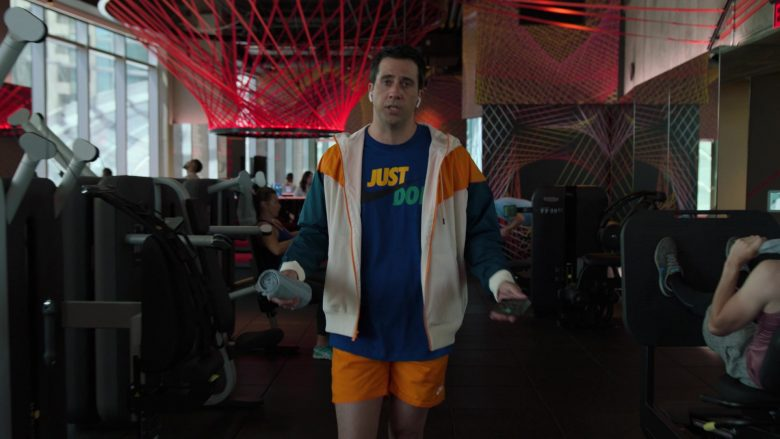"""Nike T-Shirt, Jacket and Orange Shorts Worn by Troy Garity in Ballers - Season 5, Episode 3, """"Copernicursed"""" (2019) - TV Show Product Placement"""