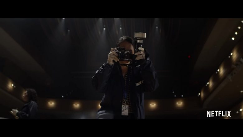 Nikon Camera in In the Shadow of the Moon (2019) - Movie Product Placement