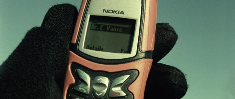 Nokia Mobile Phone in Blade: Trinity (2004) - Movie Product Placement
